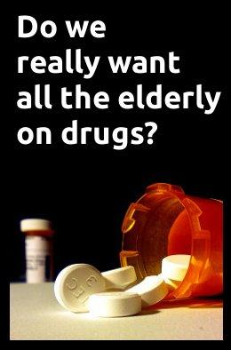 elderly on high blood pressure medications