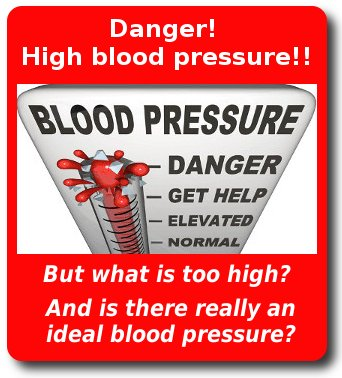 ideal blood pressure - does it exist?