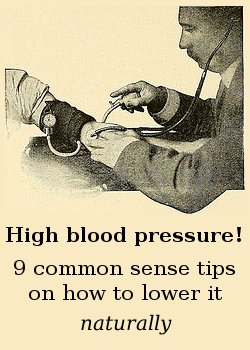 9 tips - info on high blood pressure