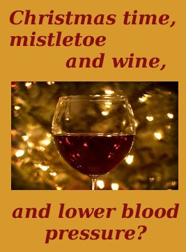 hypertension and red wine