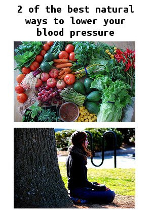 natural high blood pressure cures