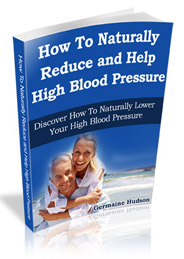 how to reduce high blood pressure e-book cover