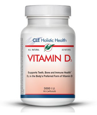 vitamin D3 by CLE Holistic Health