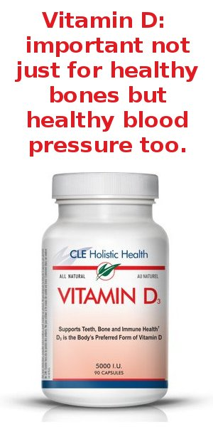 vitamin D for healthy blood pressure
