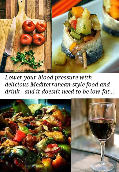 mediterranean high blood pressure diet