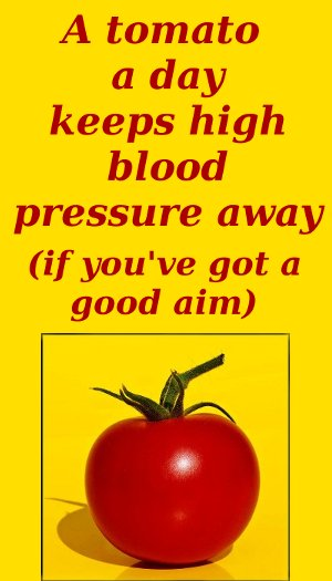 are tomatoes good for blood pressure