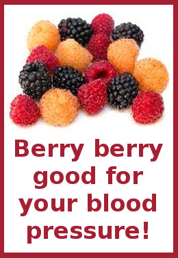 berry berry good for your blood pressure