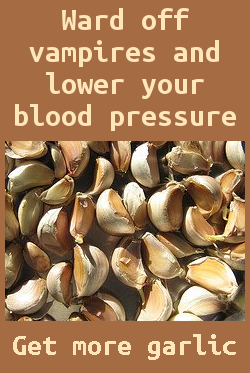 get more garlic - lower your blood pressure