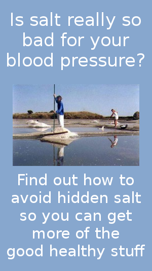 hidden salt and high blood pressure