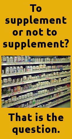 supplements that help reduce blood pressure - nor not?