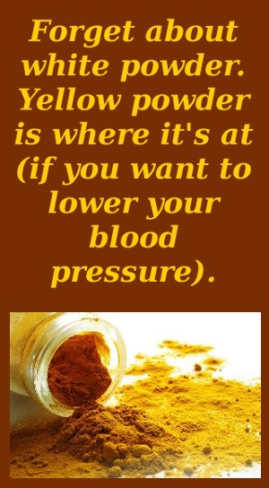 turmeric supplement for lower blood pressure