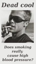 Does smoking cause high blood pressure?