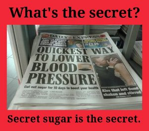 sugar and high blood pressure