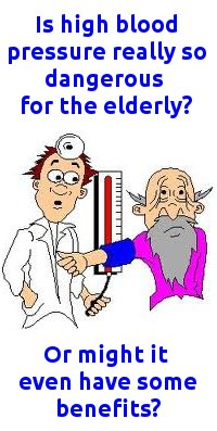 high blood pressure and the elderly