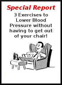 3 exercises to lower blood pressure without having to get out of your chair