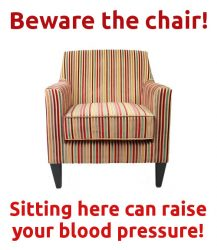 beware the chair!