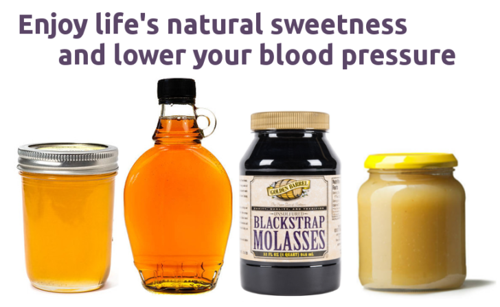 enjoy natural sweetness and lower your blood pressure